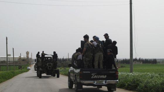 Secuestrados cuatro periodistas italianos en el norte de Siria