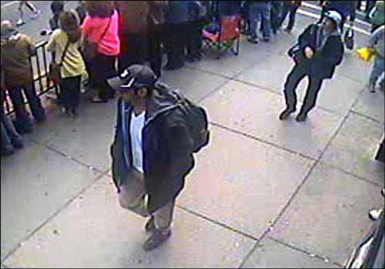 Los dos sospechosos señalados por el FBI por los atentados en Boston.