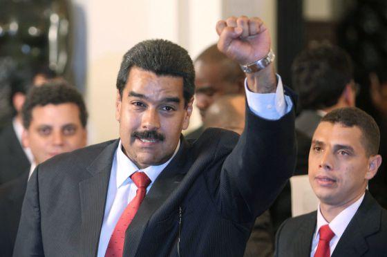 Maduro, tras la reunión.