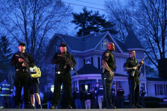 Capturado vivo el sospechoso huido del atentado de Boston