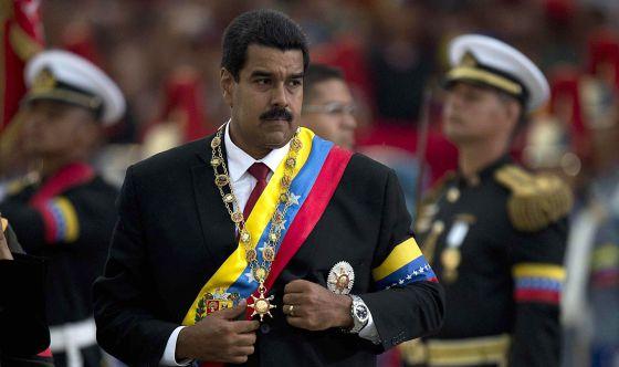 Maduro, tras la toma de posesión la semana pasada.