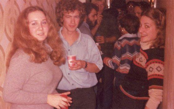 Montes, en una fiesta en Madrid en 1977.