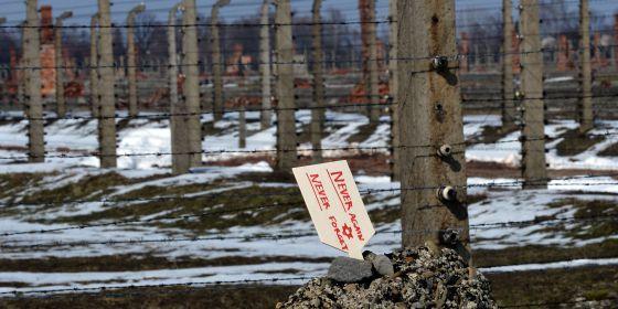 Imagen del campo de exterminio de Auschwitz el pasado 8 de abril.