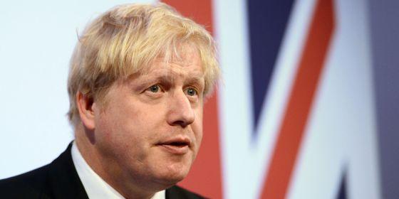 El alcalde de Londres, Boris Johnson, en una conferencia en la capital británica el pasado jueves.