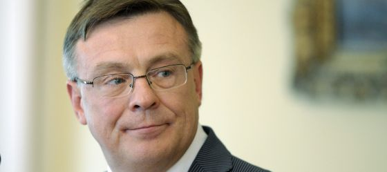 El ministro ucraniano de Exteriores, Leonid Kozhara.
