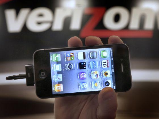 Imagen tomada en una tienda de Verizon.