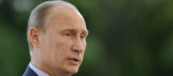 El presidente ruso, Vladimir Putin, hoy en Finlandia.