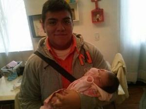 Jerzy Ortiz, hijo de El Tanque, en una foto facilitada por su familia.