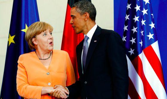 Obama accede a explicar a Alemania sus programas de vigilancia