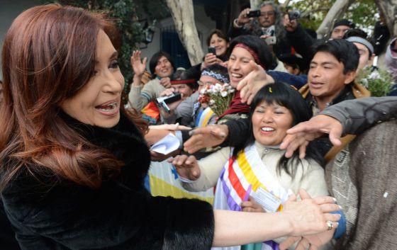 Fernández, el pasado 9 de julio en San Miguel de Tucumán (Argentina).