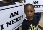 Los afroamericanos claman 'Justicia para Trayvon'