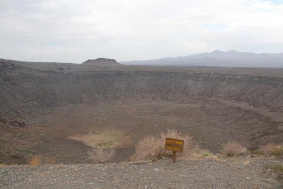 Cráter Elegante, en la reserva El Pinacate