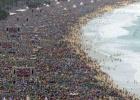 El Papa se hace fuerte en Brasil