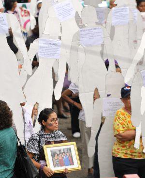Marcha contra la violencia de género en Panamá.