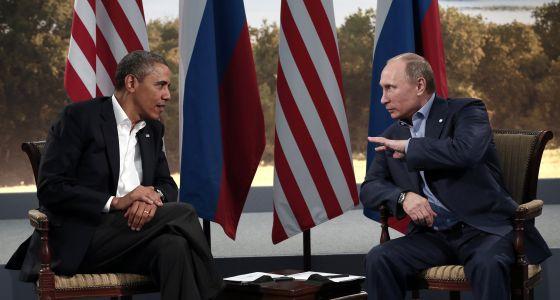 Obama y Putin, en la cumbre del G-8 en Irlanda del Norte en junio.