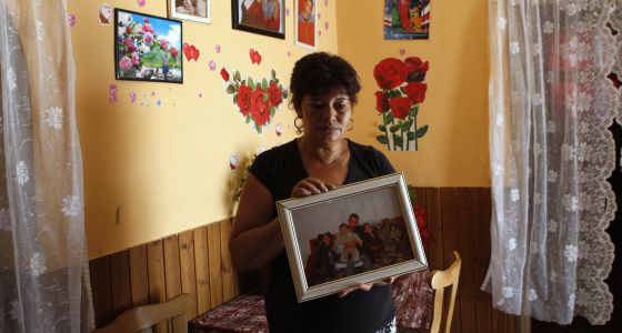 La abuela del niño asesinado en Tataszentgyörgy.