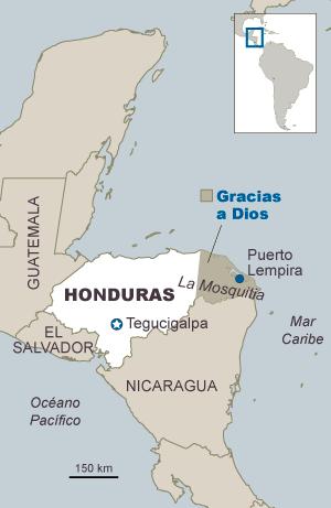 Guerra de narcos entre Nicaragua y Honduras