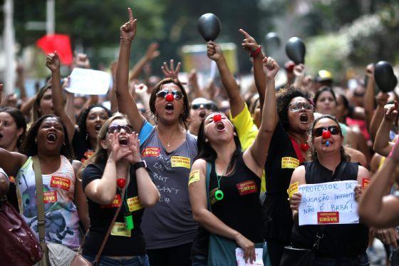 En Brasil crecen los ricos y los pobres