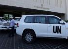 La ONU llega a Siria para analizar el uso de armas químicas