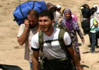 El número de sirios refugiados en Irak se duplica en una semana