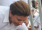 La presidenta de Costa Rica lidera una marcha contra Daniel Ortega