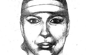 Retrato robot de la supuesta asesina 'Diana la cazadora'.