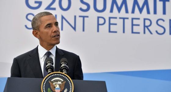 """Obama logra el apoyo de la mitad del G20 para una respuesta """"contundente"""" en Siria"""