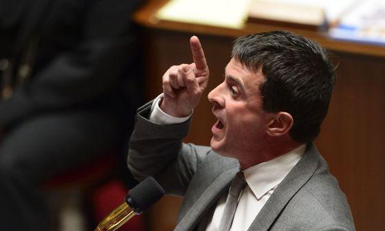 El ministro del Interior de Francia, Manuel Valls.