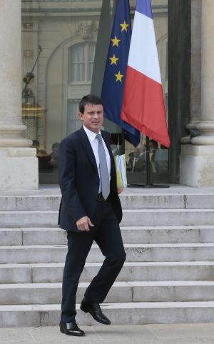 El ministro de Interior francés, Manuel Valls.