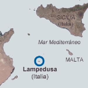 Más de 200 fallecidos en el incendio de un barco con inmigrantes en Lampedusa