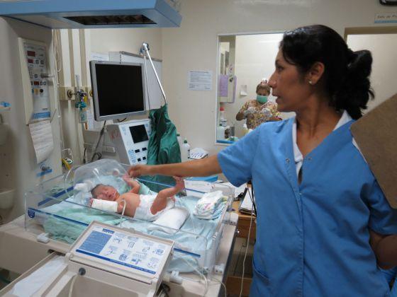Cuidado de un bebé