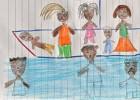 Los niños dibujan la tragedia de Lampedusa