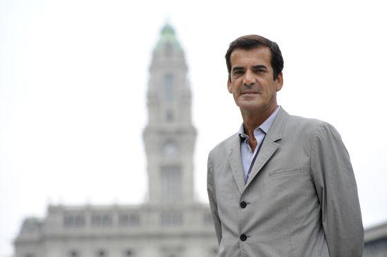 Rui Moreira, este verano en Oporto.