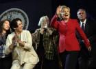 Hillary Clinton, en precampaña antes de la campaña electoral