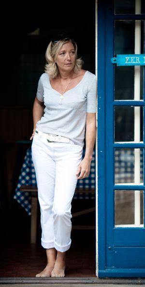 Marine Le Pen, líder del Frente Nacional, en julio de 2010.