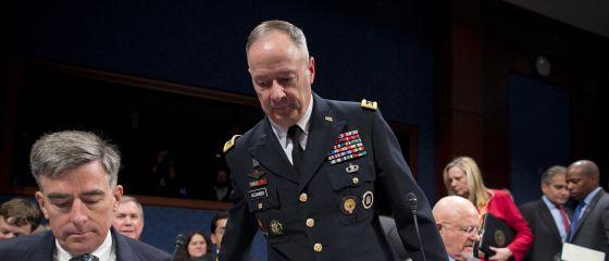 El director general de la NSA, Keith Alexander, testifica el martes ante un comité del Congreso de EE UU.