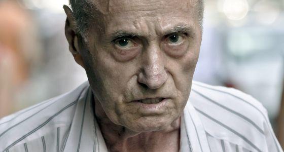 Alexandru Visinescu, de 87 años, en Bucarest, el 3 de septiembre.