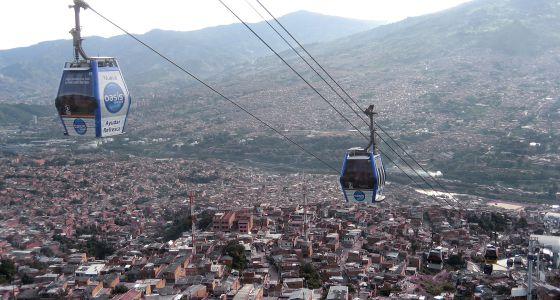 Imagen de archivo de la ciudad de Medellín.