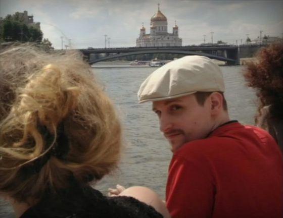 Snowden, fotografiado en Moscú.