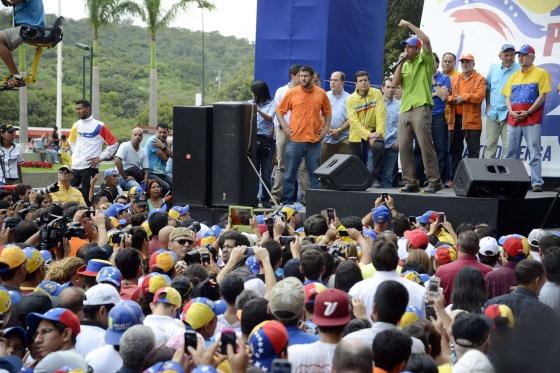 Capriles se dirige a sus seguidores este sábado en Caracas