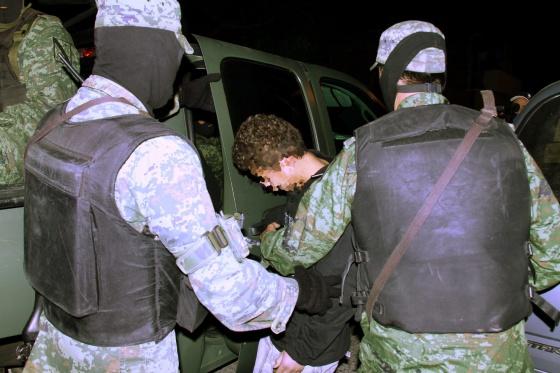 Detención de el 'niño sicario' en diciembre de 2010