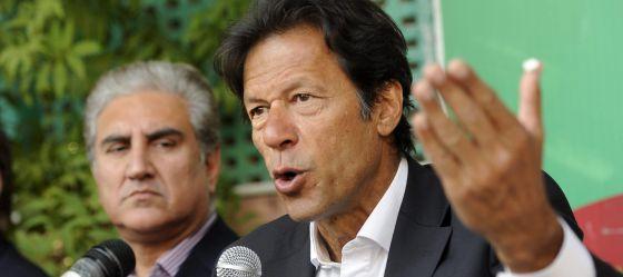 Imran Jan, líder del Movimiento por la Justicia de Pakistán.