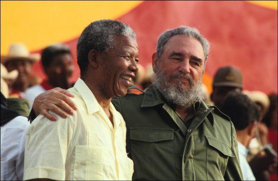 El gran amigo americano de Mandela fue Fidel Castro