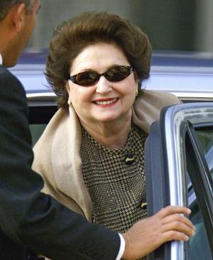 Lucía Hiriart, en una imagen de 2011.