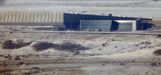 Las instalaciones de recopilación de datos que la NSA tiene en Utah.