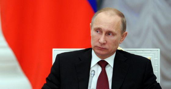 Putin, el viernes en el Kremlin.