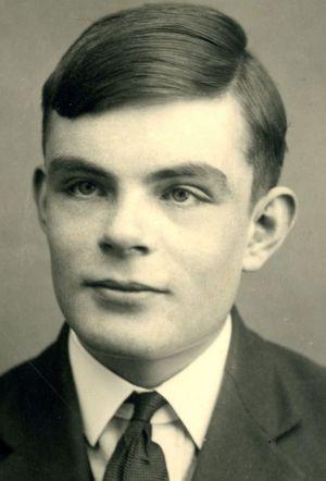 Alan Turing, en 1928.