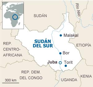 Sudán del Sur se enfrenta a su tercera guerra civil en 50 años