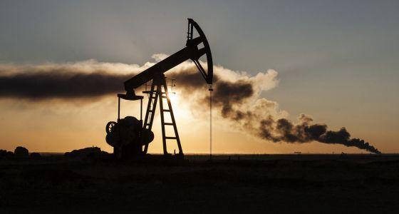Un pozo de petróleo cerca de Ramlan, cerca de la frontera sirio-turca, en octubre.
