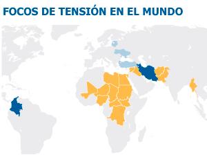 2014: ninguna guerra a gran escala, pero sí interminables conflictos